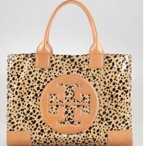 👜 👜 TORY BURCH ELLA Leopard Tote LIKE NEW 👜 👜